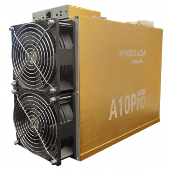 5 Units Innosilicon A10 Pro+ 7GB with Total Hashrate 3600 Mh/s Ethereum Miner